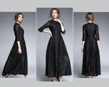 NEW ARRIVAL, HIGH WAIST HOLLOW OUT LACE DRESS.....XL....14