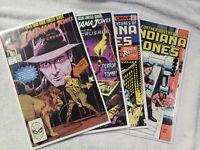 Indiana Jones 4 Comic Lot; Last Crusade #1 & 2, Further Adventures # 9 & 10