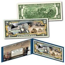 Operation Desert Shield Desert Storm The Gulf War Genuine Legal Tender $2 Bill