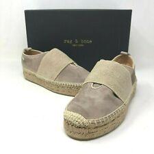 NIB $325 Rag & Bone Nina Espadrille Slip-on Shoes Suede size: US 6 EU 36