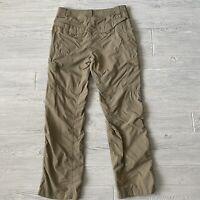 Columbia hiking outdoor sun protection pants Mens Size 32 x 30 Tan