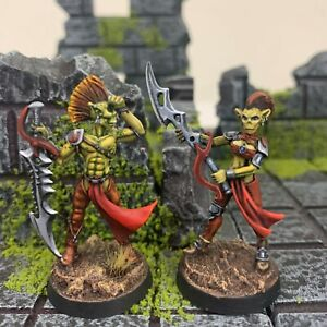 Reaper Miniatures Painted Githyanki Astral Reapers Warriors Planescape D&D RPG