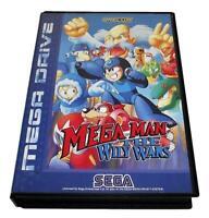 Mega Man The Wily Wars Sega Mega Drive PAL *No Manual*