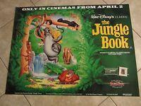Disney's The Jungle Book movie poster - original 90's reissue poster