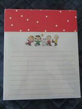 """Peanuts Gang & Snoopy Note Pad-250 Sheets-4 1/2"""" X 5 1/2""""-New"""