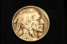 1926 S Buffalo Nickel Choice XF Full Horn