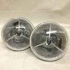 Pair 7 in Tripod Headlamp Vintage AC Cobra Ford Cobra Ford Mustang Plymouth Cuda