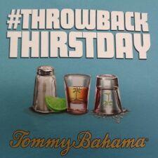 Tommy Bahama Size XXL THROWBACK THRISTDAY TEE Maui Blue T-Shirt New Mens Shirt