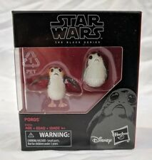 "Star Wars The Black Series The Last Jedi Porg 6"" Scale 2 Pack Action Figure Set"