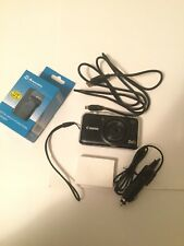 CANON POWER SHOT SX230HS w/ new battery and new wall/car charger also mini USB