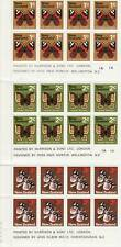 New Zealand Butterfly sets (1970) plate blocks. MNH ,S#439,440,442