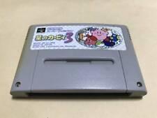 SFC SNES NINTENDO Kirby's Dream Land 3 Action SHVC-AFJJ-JPN Super Famicom