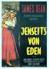 EAST OF EDEN MOVIE POSTER ~ GERMAN 26x38 James Dean Julie Harris Foreign