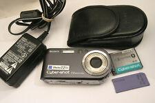 Sony Cyber-shot DSC-P200 7.2MP Digital Camera - grey