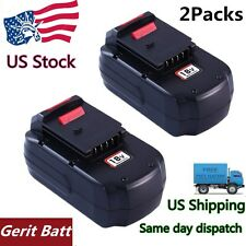 Replacement for Porter Cable 18v Battery 3000mAH NIMH PC18B Cordless Power Tool