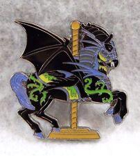 Disney Parks Carousel Kingdom Sleeping Beauty Dragon Maleficent Horse Pin