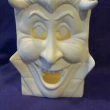 """Dracula Bag 8"""" Ceramic Bisque,  ready to paint"""