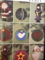 Vogue Sewing Pattern 7649 Christmas Ornaments One Size UC Craft