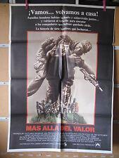 A1863  MAS ALLA DEL VALOR. GENE HACKMAN, UNCOMMON VALOR, FRED WARD