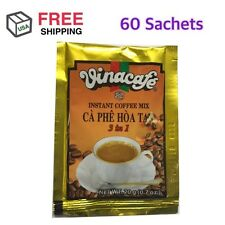 VINACAFE INSTANT COFFEE MIX 3 IN 1 COFFEE 60 Sachets / 3 Bag