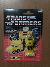 Transformers G1 BUMBLEBEE minibot Reissue Walmart exclusive MOSC