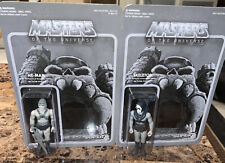 Masters Of The Universe He-Man & Skeletor Grayscale Edition NYCC Mattel Rare