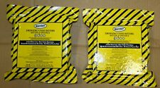 (2) Pack 3600 Cal Emergency Survival Food Bar Total 18 Meals/ 6 Day Mayday 2025