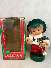 Melody Kids Animated Christmas Doll Figure Vintage Collectible