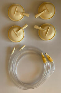 New Medela Symphony Breast Pump Membrane Cap Tube Lot of 2 Hospital Grade Hose