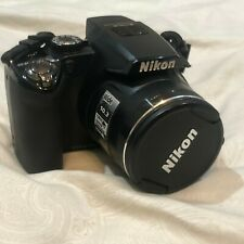 Nikon COOLPIX P100 10.3MP Digital Camera - Black Tested Great Condition