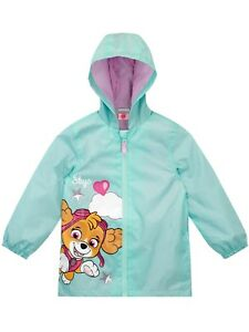 Licensed Girls Paw Patrol Winter Fleece Lined Coat Age 2 Years