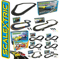 Scalextric Slot Car Racing Track Complete Full Sets