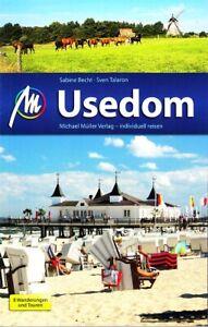 Reiseführer Usedom Ausgabe 2017/18, Michael Müller Verlag, UNGELESEN, wie neu
