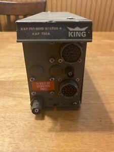 King KXP-750 Mod 4 Transponder 066-1011-00 Class 1 - 14 Volt DC Operation Only