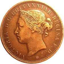 More details for 1877 queen victoria states of jersey twelfth of a shilling coin  #aug85