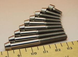 M5  TITANIUM (Cone Head) SOCKET CAP SCREWS