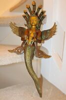 Antique Naag kanya 19'' 4k Snakes Lady Serpent Buddha Shamanism Collectable