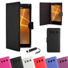Fundas y carcasas de piel para teléfonos móviles y PDAs Huawei
