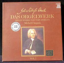 Bach Orgelwerk vol 7 Chapuis 2 x LP NM/M, BX EX