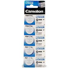 """5x Camelion CR2032 PREMIUM Lithium Batterie CR 2032 3V"