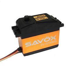 Savox SV-0236MG High-Voltage 1/5th Scale MG Servo 555 oz Losi 5IVE-T DBXL Baja