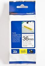 Brother P-touch tape TZe-S261 schwarz auf weiß extra stark 36mm TZ-S261 ORIGINAL