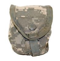 US Army Single Hand Grenade Pouch, ACU Digital, MOLLE II USGI Utility Pouch VGC