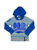 BOY'S LONG SLEEVE T-SHIRT, SIZE 2 TO 14 YEARS