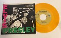 Elvis Presley / Blue Suede Shoes & Tutti Frutti  Anniversary Vinyl 45 w PS Mint