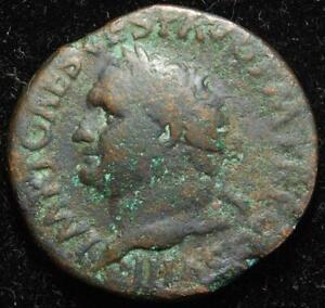 Titus AE as, rev. Pax, Rome mint 80-81AD - RIC II 230