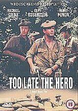 Too Late The Hero [DVD] [1969], Good Used DVD, Lance Percival, Henry Fonda, Clif