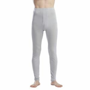 Pure Silk Jersey Knit Men Long Johns Bottom Only US S M L