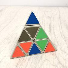 Vintage Pyraminx Brainteasers original Puzzle Rubiks Pyramid - Fun Puzzle