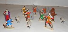 Footsteps to Follow David Deluxe Set (With 12 Figures, Storybook and Tape)